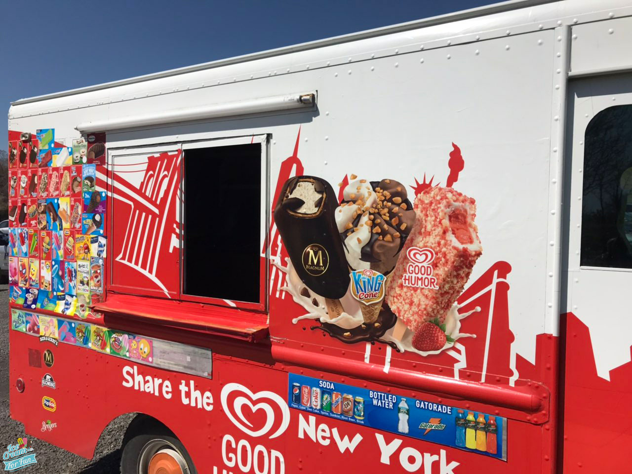 Ice cream for fun truck - new york - party - events - photo gallery