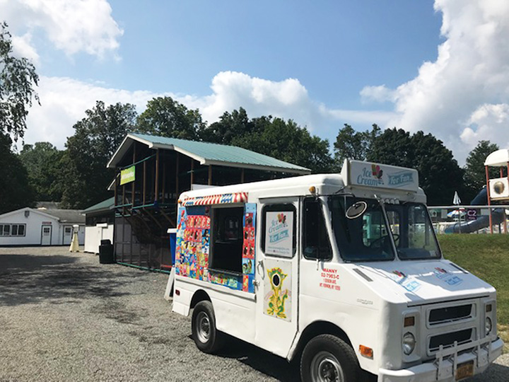 Ice cream for Fun - New York truck - Manny