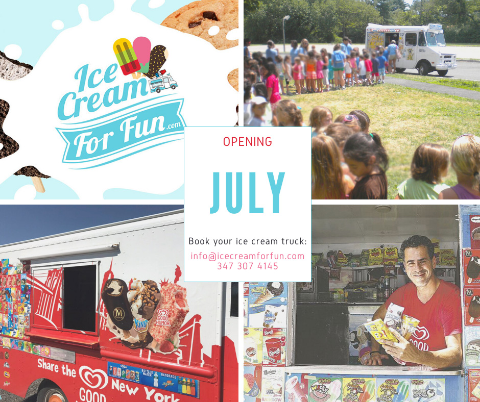 Ice cream - New York truck - Season Opening 2020 - Blog post